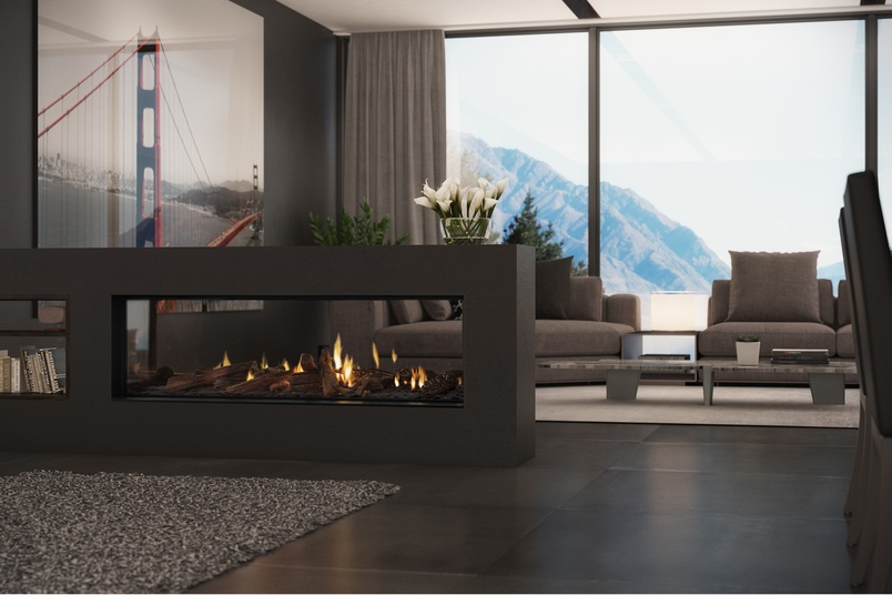 Gas Fireplaces Ds Series By Escea Fireplaces Selector