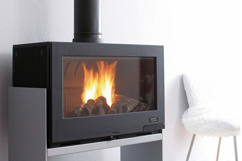 Wood Burning Fireplace Cheminees Philippe Horama By