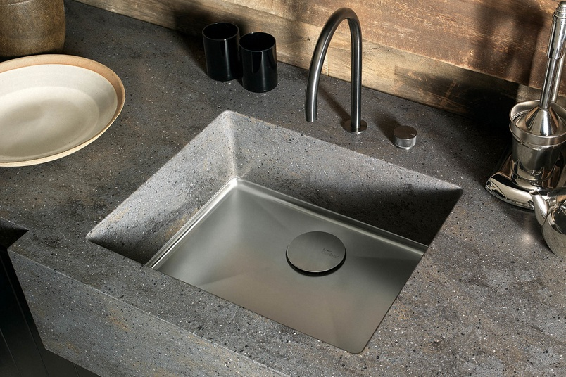 Sinks dupont corian by casf australia selector for Corian sink accessories