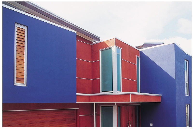 Gunnersen's Shadowclad plywood cladding sheets are versatile, and can be used for both decorative and bracing purposes.